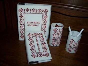 click here to view larger image of Flourish Desk Accessories (chart)