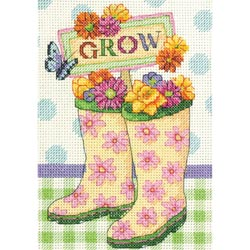 click here to view larger image of Grow (counted cross stitch kit)
