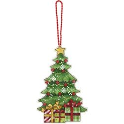 click here to view larger image of Susan Winget Tree Ornament (counted cross stitch kit)