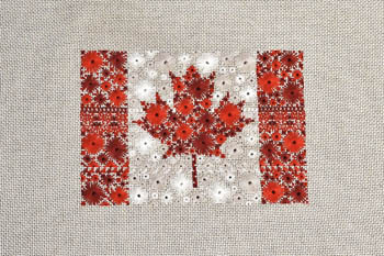 click here to view larger image of Starburst Flag of Canada (chart)