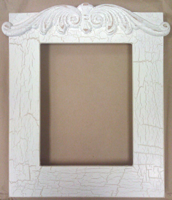 click here to view larger image of Frame - Juliet 5 x 6.5 (Fleamarket Icing) (frame (ready made))