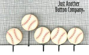 click here to view larger image of Just Pins - P is for Pins - Baseball (pin)