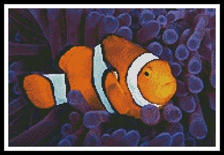 click here to view larger image of Clownfish in Anemone (chart)