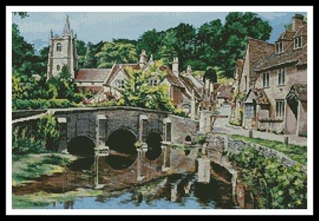 click here to view larger image of Castle Combe, Wiltshire (chart)