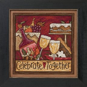 click here to view larger image of Celebrate Together (counted cross stitch kit)