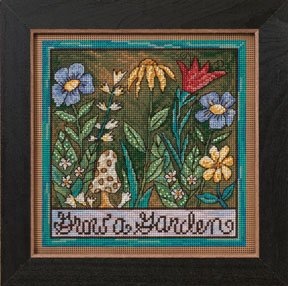 click here to view larger image of Grow A Garden (2012) (counted cross stitch kit)