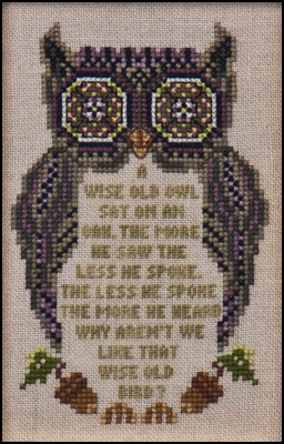 click here to view larger image of Wise Old Owl (chart)