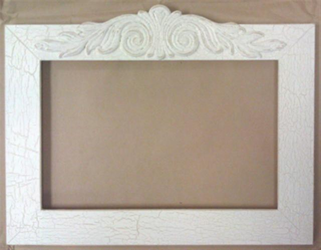click here to view larger image of Frame - Julieann 14 x 9 (Fleamarket Icing) (frame (ready made))