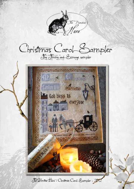 click here to view larger image of Christmas Carol Sampler (chart)