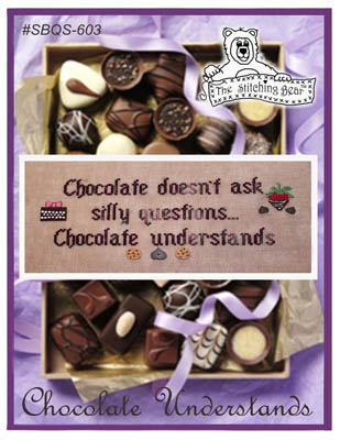 click here to view larger image of Chocolate Understands (chart)
