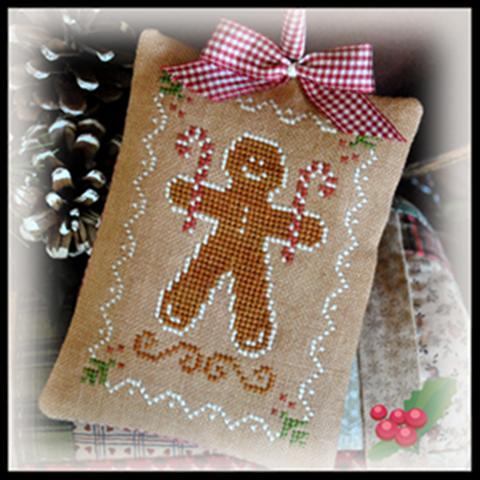 click here to view larger image of Gingerbread Cookie (2012 Ornament 10) (chart)
