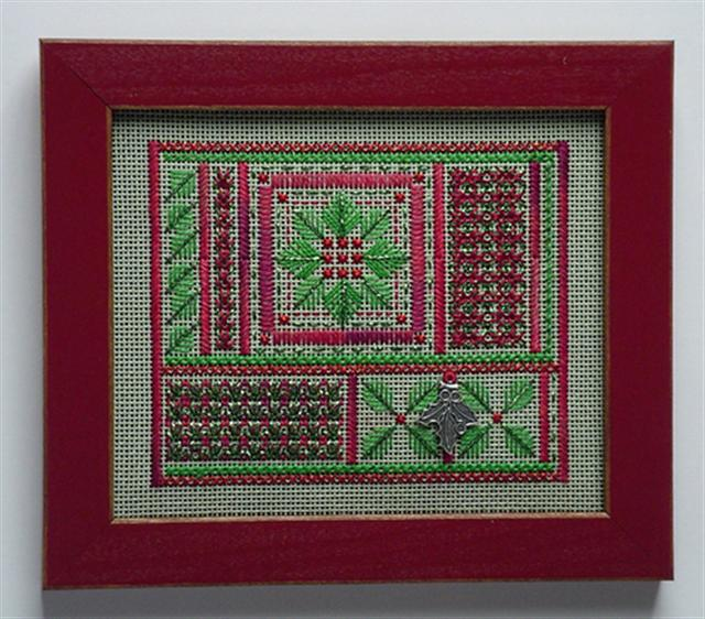 click here to view larger image of Holly Patch Needlepoint (counted canvas chart)