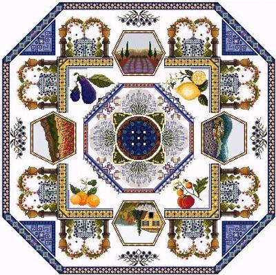click here to view larger image of Provence Mandala (chart)
