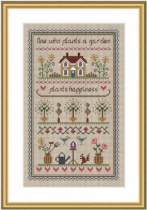 click here to view larger image of Garden Sampler (chart)
