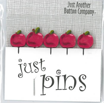 click here to view larger image of Just Pins - Tiny Apples (pin)