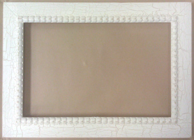 click here to view larger image of Frame - Meg 5.5 x 9.5 (Fleamarket Icing (frame (ready made))