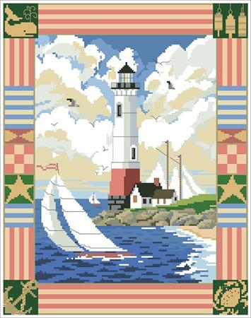 click here to view larger image of American Lighthouse (chart)