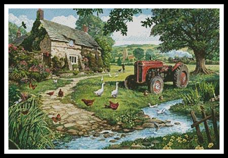 click here to view larger image of Old Tractor, The (chart)