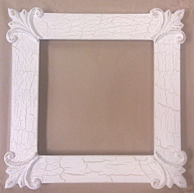 click here to view larger image of Frame - Ronna 7x7  (Fleamarket Icing) (frame (ready made))