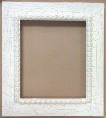 click here to view larger image of Frame - Meg  6x7  (Fleamarket Icing) (frame (ready made))