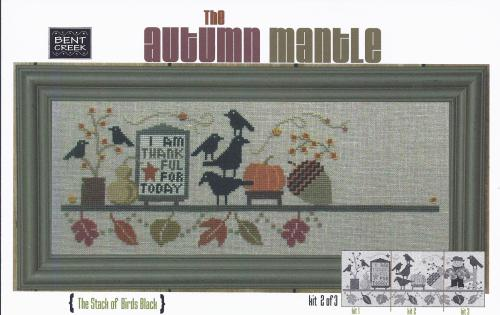 click here to view larger image of Autumn Mantle - The Stack of Birds (counted cross stitch kit)