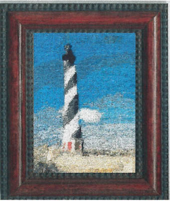 click here to view larger image of Cape Hatteras Lighthouse (w/silk gauze) (chart)
