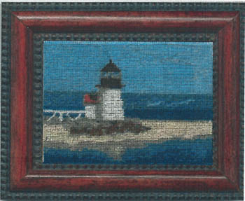 click here to view larger image of Brant Point Lighthouse  (w/silk gauze) (chart)