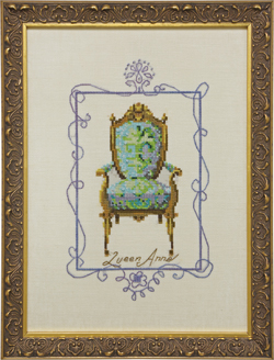 click here to view larger image of Queen Anne - Sitting Pretty Collection (chart)