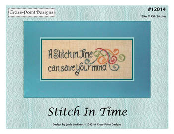 click here to view larger image of Stitch In Time (chart)