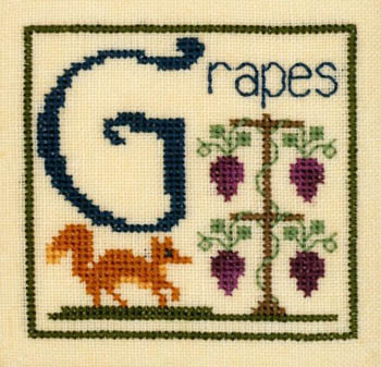 click here to view larger image of G Is For Grapes (chart)