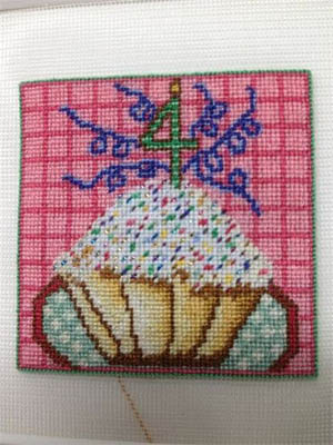 click here to view larger image of Happy Birthday Cupcake (chart)