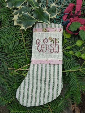 click here to view larger image of Wish Stocking (counted cross stitch kit)
