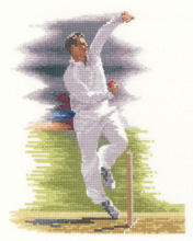 click here to view larger image of Bowler (counted cross stitch kit)