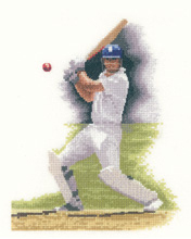click here to view larger image of Batsman (chunky cross stitch kit)