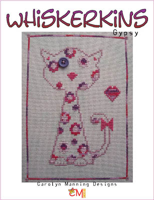 click here to view larger image of Gypsy - Whiskerkins (chart with charms/buttons)