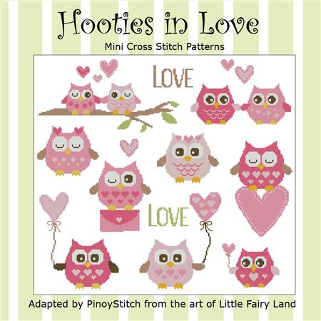 click here to view larger image of Hooties In Love (chart)