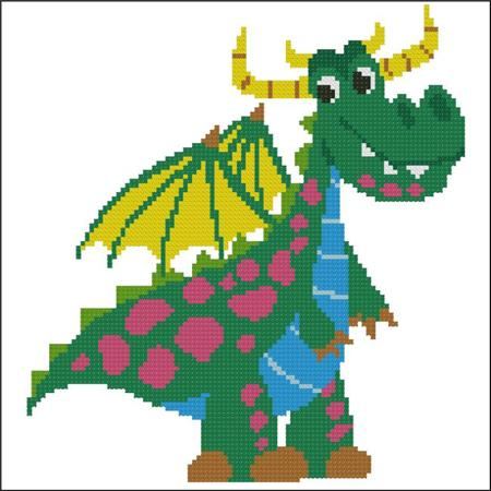 click here to view larger image of Happy Dragon Green (chart)