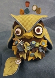 click here to view larger image of J Edgar Owl Pincushion (Kit) (None Selected)