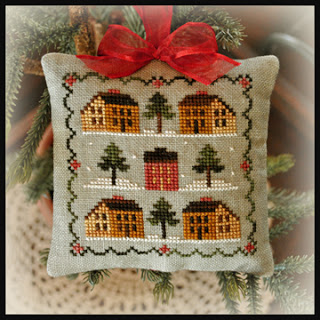 click here to view larger image of 2012 Ornament 12-Saltbox Village (chart)