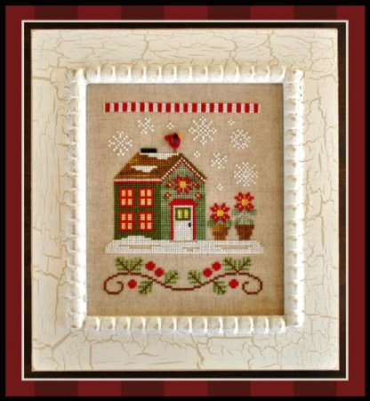 click here to view larger image of Poinsettia Place (Santas Village Part 2) (chart)