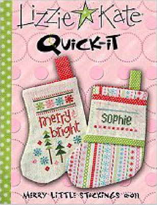 click here to view larger image of Merry Little Stockings - Quick It (chart)