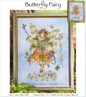 click here to view larger image of Butterfly Fairy (chart)