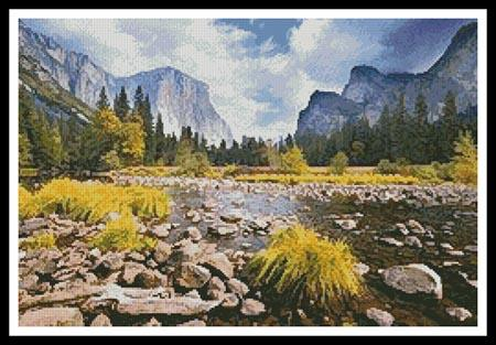 click here to view larger image of Yosemite Valley (chart)