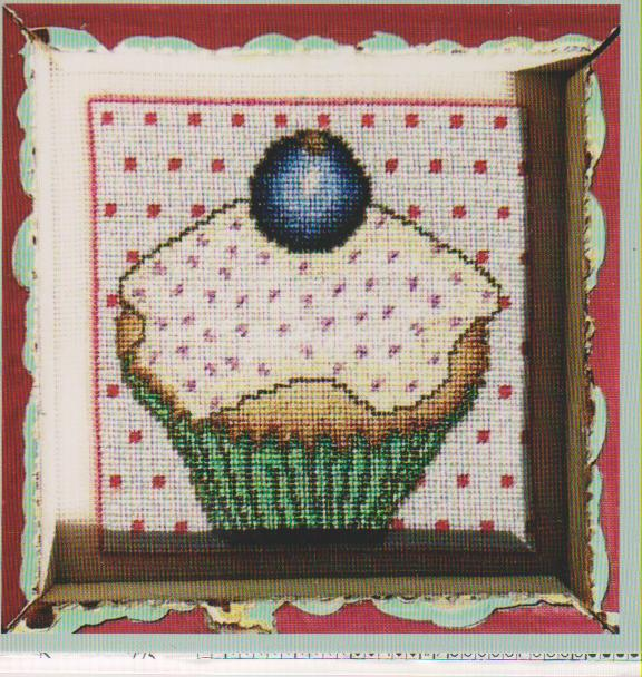 click here to view larger image of Vanilla Cupcake (chart)