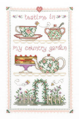 click here to view larger image of Country Tea Time (chart)