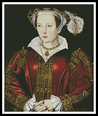 click here to view larger image of Catherine Parr (chart)