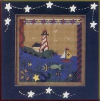 click here to view larger image of At The Shore (counted cross stitch kit)