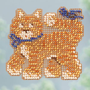 click here to view larger image of Cool Cat (2013) (bead kit)