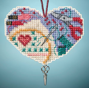 click here to view larger image of Love Stitching (2013) (bead kit)