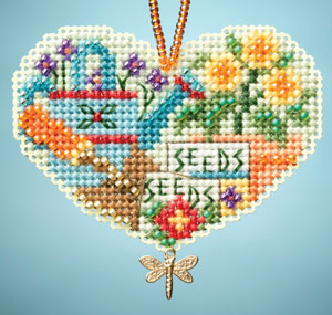 click here to view larger image of Love Gardening (2013) (bead kit)